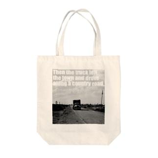 カントリーロード Tote bags
