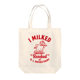 MATHIS DAIRY Tote bags