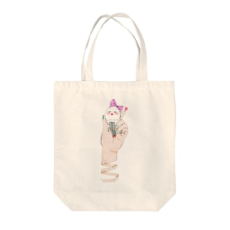 美肌たまごちゃん Tote bags