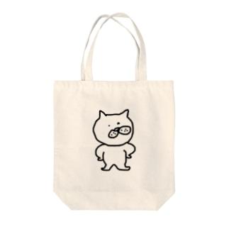 いばりんぼう Tote bags