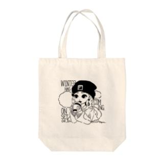 [シンプル] winter バッグ Tote Bag