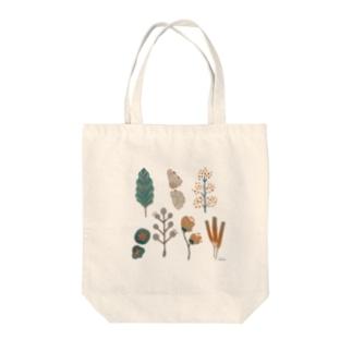ヘンテコ草 Tote bags
