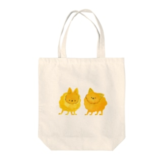 東堂 優 /Yu TODOのふわふわでコロコロのポメさんず Tote bags