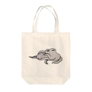 マクラタコ図 Tote bags