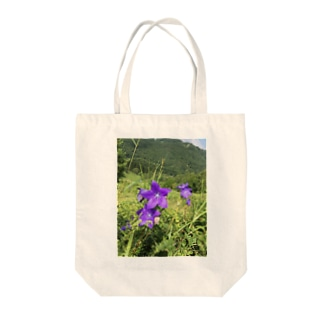 高原の花flower Tote bags