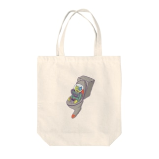 猫UFO Tote bags