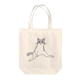 100nyan001.musashinocats(しーちゃん) Tote bags
