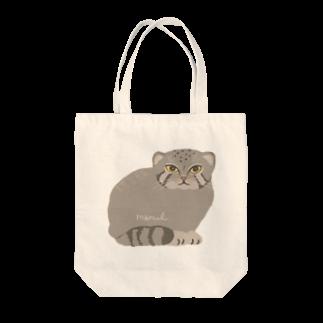 あおきさくらのマヌルネコ Tote bags