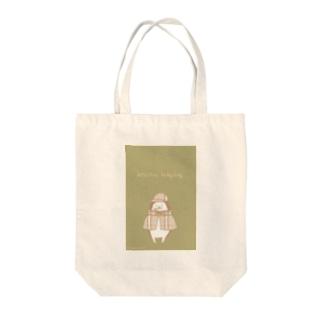 探偵ハリネズミ Tote bags