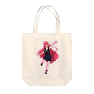 麻雀まぐりこ Tote bags