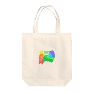 Beautiful Toyama forever Tote bags