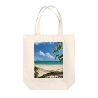 Kailua Beach Tote bags
