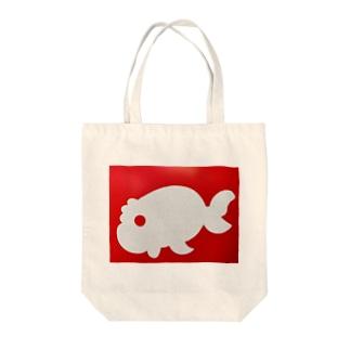 金魚一道オリジナル Tote bags