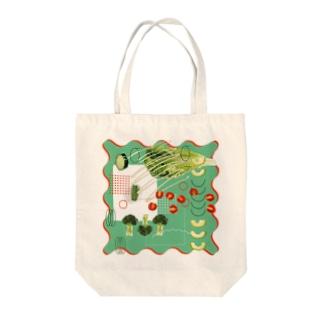 お野菜 Tote bags