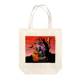 魔女ドロテイアの素敵なハロウィン2 Tote bags