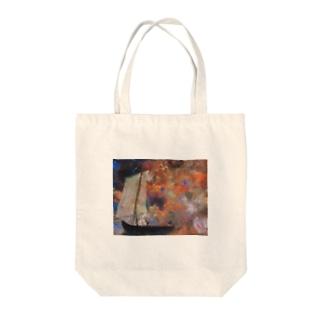 オディロン・レドン / Flower Clouds / 1903 / Odilon Redon. Tote bags