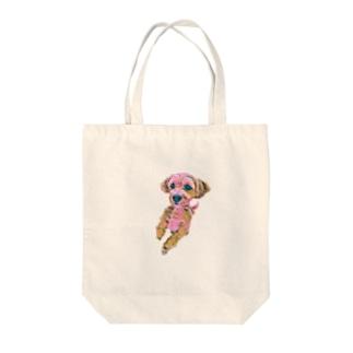 まるぷー Tote bags