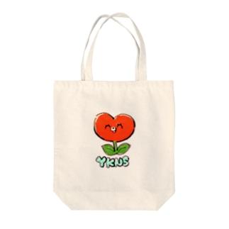 しょくぶつマン(赤) Tote bags