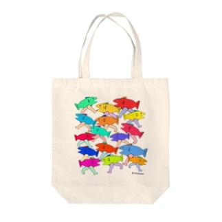 魚街 Tote bags