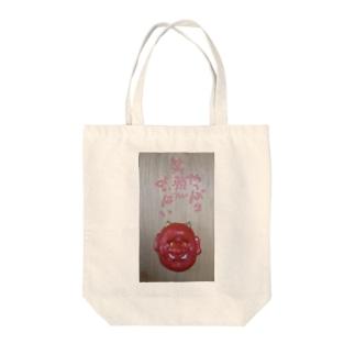 笑顔がよかばい Tote bags