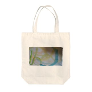美しい星と海のオーロラ Tote bags