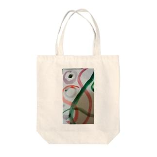緑の反抗 Tote bags