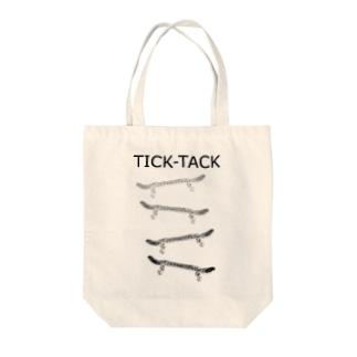 TICK-TACK Tote bags