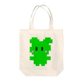 ドットぽに Tote bags