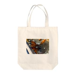 宮島の鹿 Tote bags
