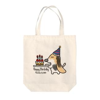 はこびーぐる(バースデー)/トートバッグ Tote bags