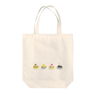 モンブラん Tote bags