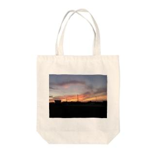 夕焼けぞら Tote bags