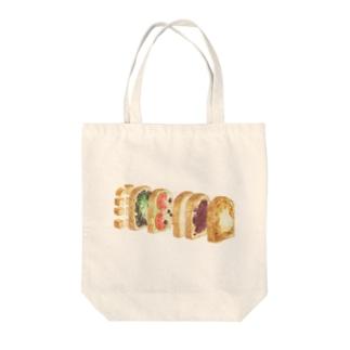 サンドイッチ Tote bags