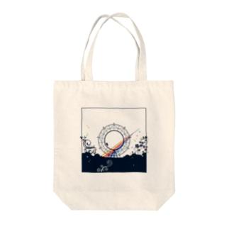 なな♡7 & だいふく Tote bags