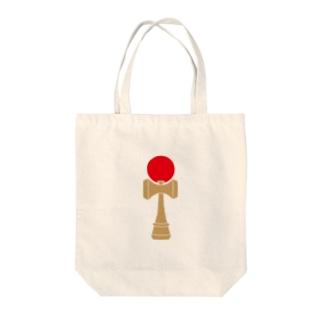 けん玉 Tote bags