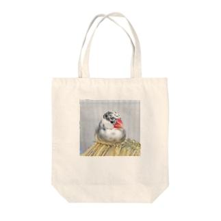 ブンチョウのチミ Tote bags