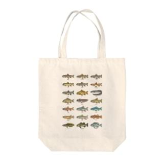 ドット絵(TANSUIGYO_1) Tote bags