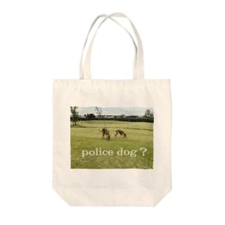 イタグレ police dog? Tote Bag