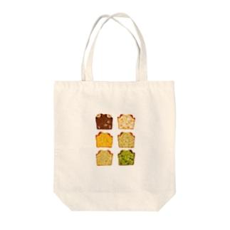 パウンドケーキ Tote bags