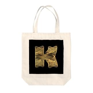 K Tote bags