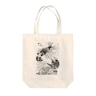 古代生物 その3 Tote bags