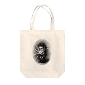 ヤノベケンジ《トらやんの大冒険》(小さな太陽) Tote bags