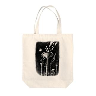 ヤノベケンジ《トらやんの大冒険》 (あしたの音色) Tote bags