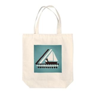 バカンスペンギン Tote bags