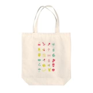 pastel icon Tote bags