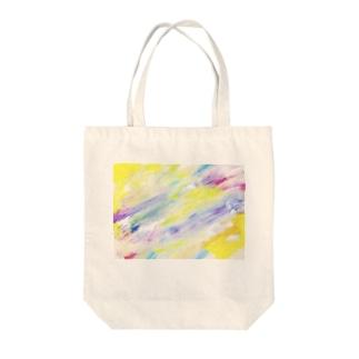 新月にとろけて Tote bags