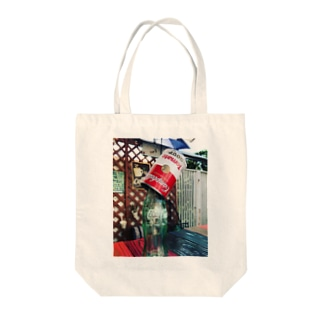 Campbell Coke Tote bags
