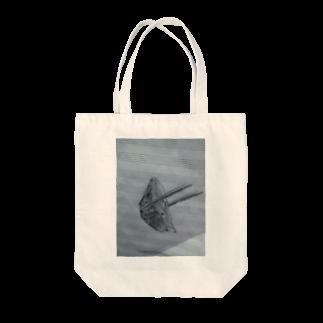 よまショップの五線譜上の餃子 Tote bags