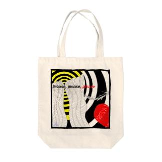 please,please,please Tote bags