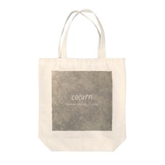 coeurn(ロゴ) Tote bags